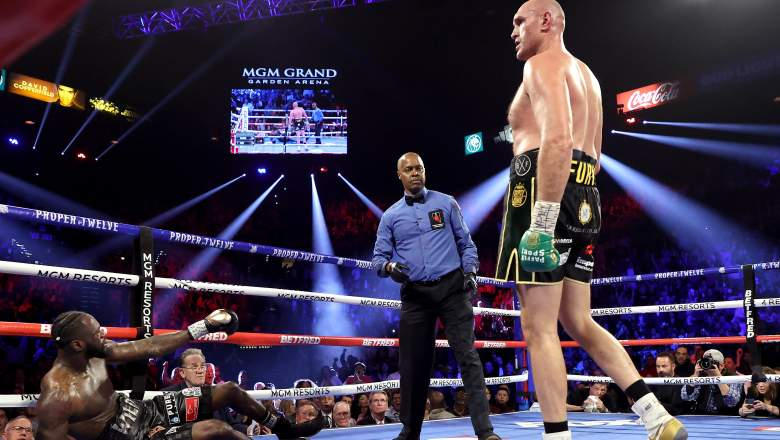 Wilder knocked out by Fury