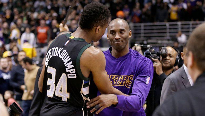 "Giannis Antetokounmpo calls Kobe Byant the ""Whole Generation's Idol"""