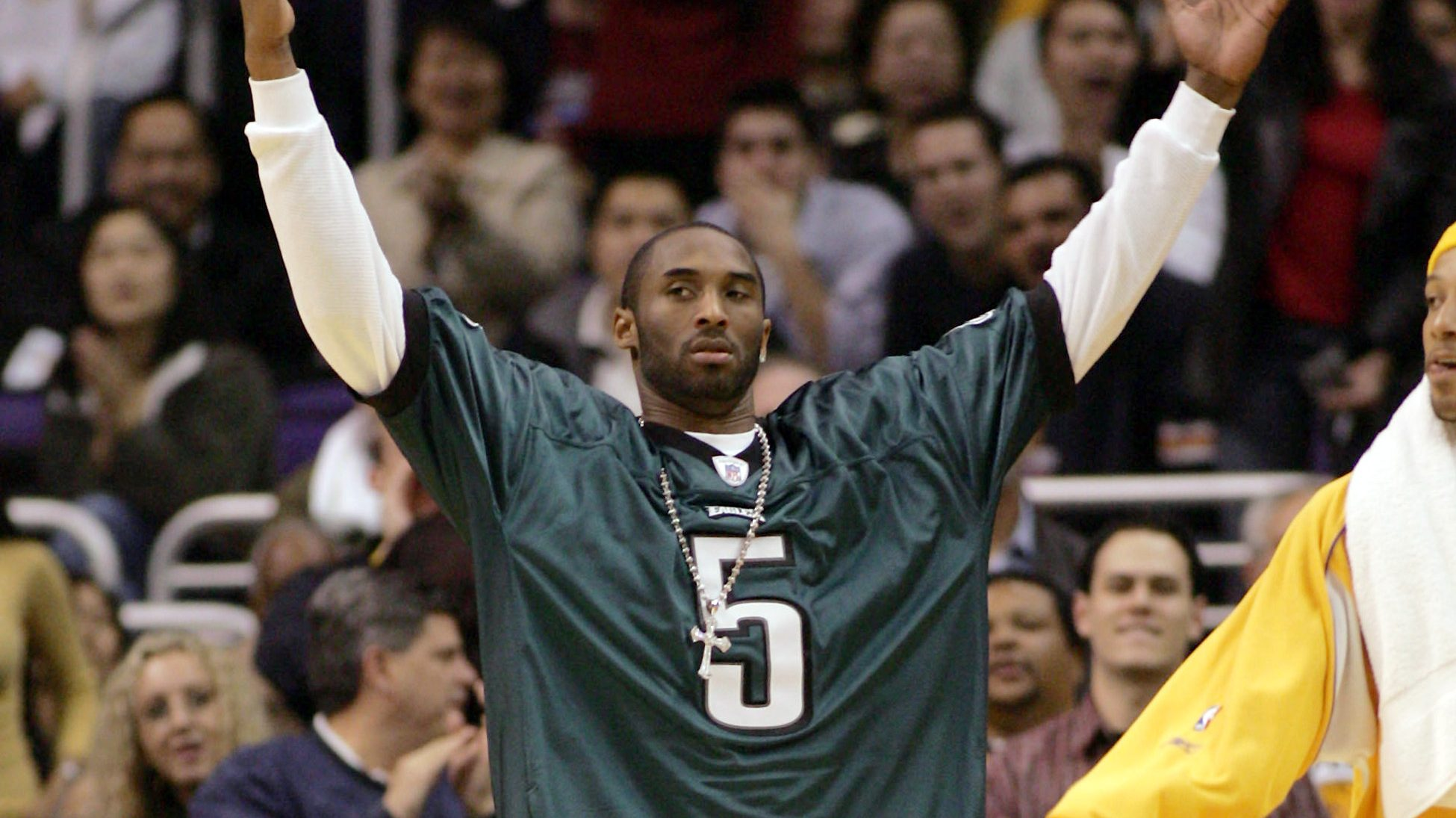 Eagles Add Amazing Kobe Bryant Mural to Practice Facility   Heavy.com