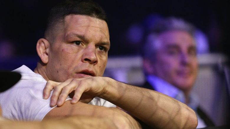 UFC's Nate Diaz injured and hospitalized after fight with cops