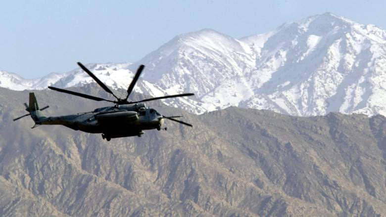 U.S. Military Helicopter in Afghanistan