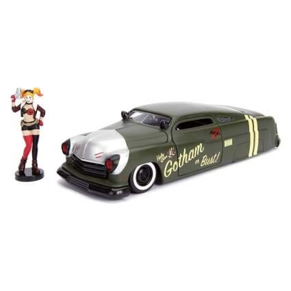 Jada DC Comics Bombshells Harley Quinn & 1951 Mercury Die-cast Car