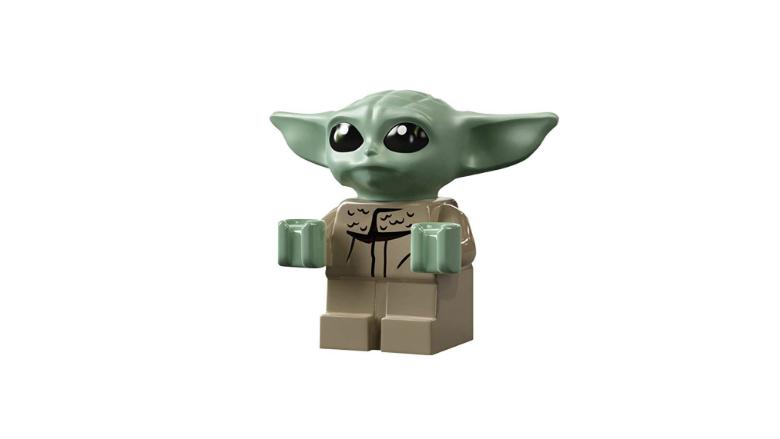 LEGO Star Wars: The Mandalorian Razor Crest Building Kit - Baby Yoda