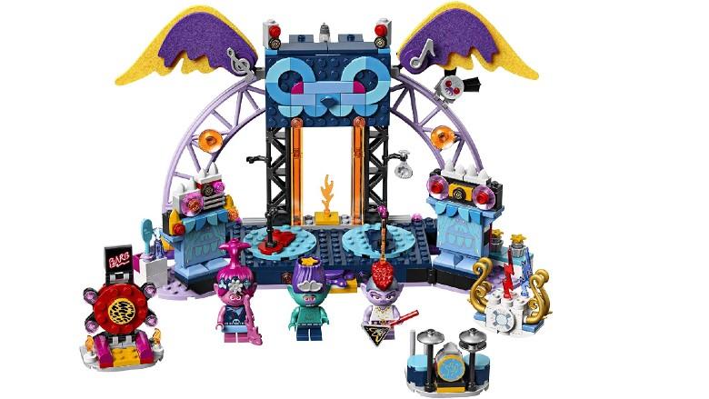 LEGO Trolls World Tour Volcano Rock City Concert