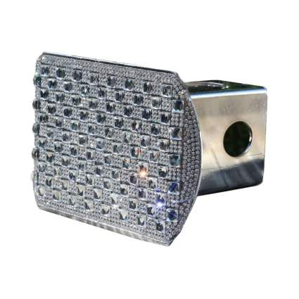 LFParts Diamond Crystal Bling Rhinestone Hitch Cover