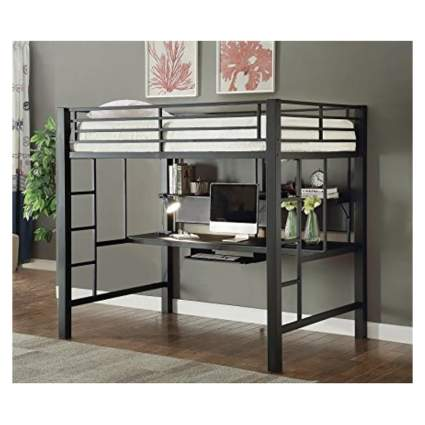 loft bed with work station