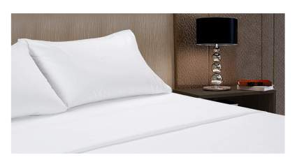 luxury white cotton sheets