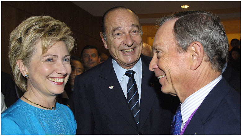mike bloomberg hillary clinton