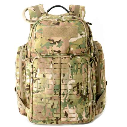 Military Tactical Pack 55-Liter 72 Hours Molle Rucksack