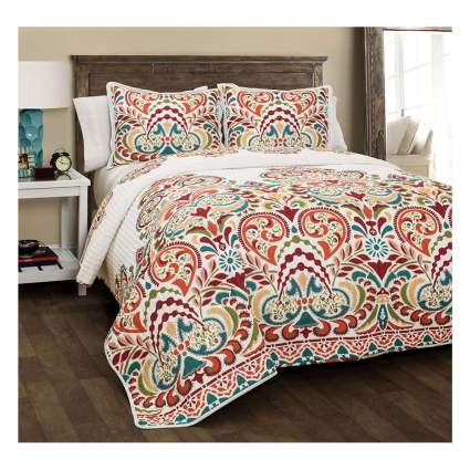 moroccan print bedding set