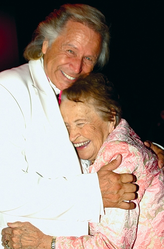 Peter Nygard and His Mother