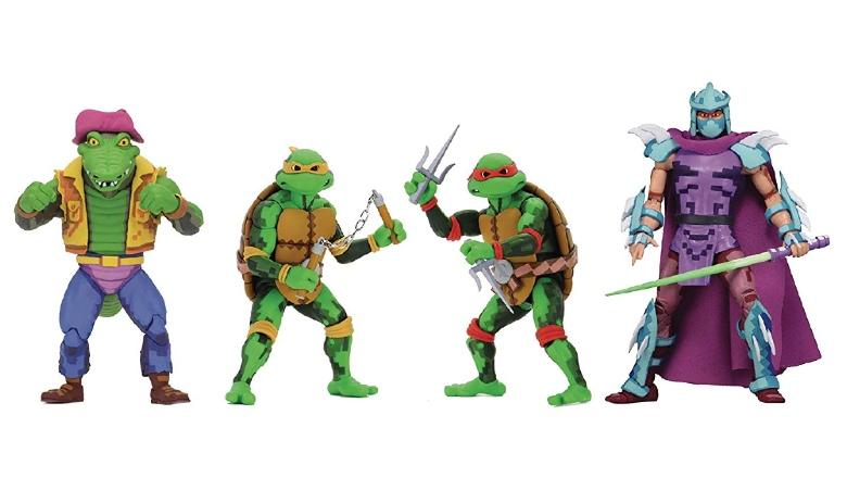 NECA Turtles in Time