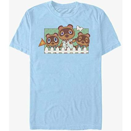 Animal Crossing Nook Family Shirt