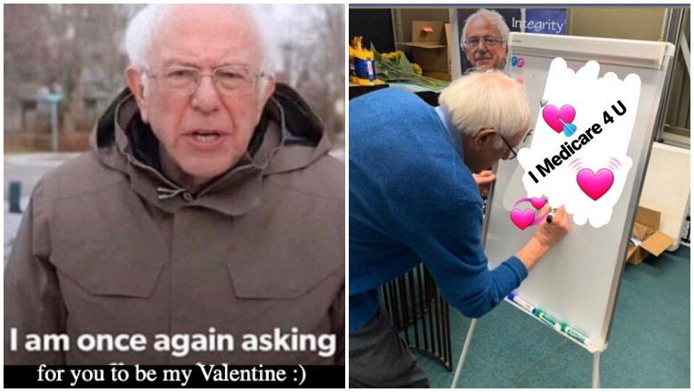 Bernie Sanders Valentine's