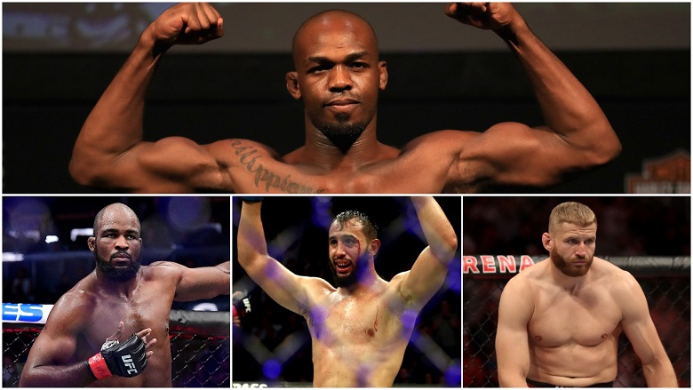 Jon Jones, Corey Anderson, Dominick Reyes and Jan Blachowicz