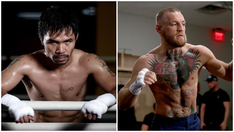 Manny Pacquaio vs. Conor McGregor