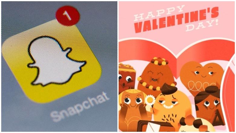 Team Snapchat Valentine's
