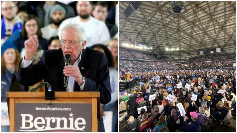 Bernie Sanders Tacoma Rally