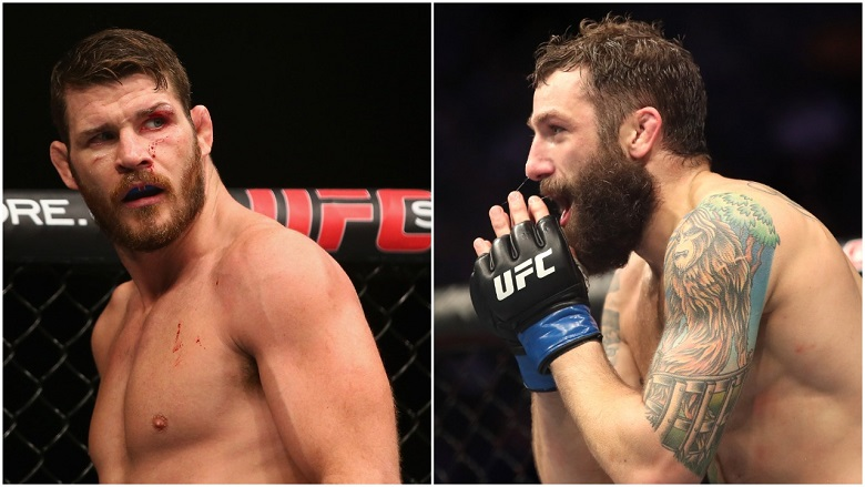 Michael Bisping and Michael Chiesa
