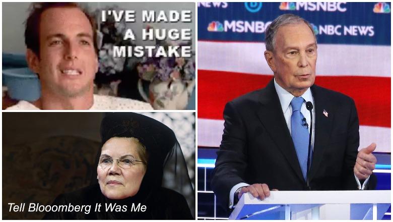 Bloomberg Debate Memes