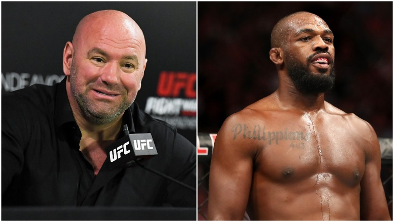 Dana White and Jon Jones