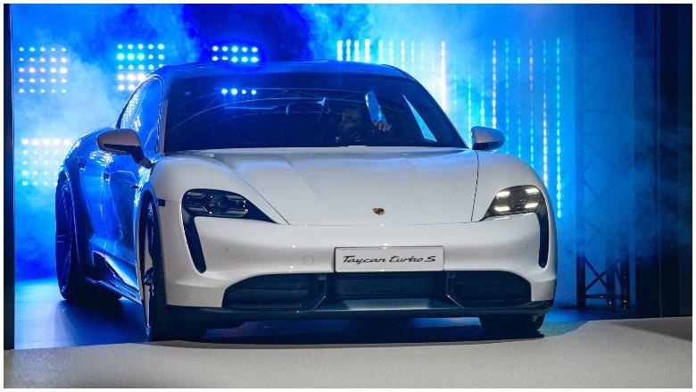 Porsche, Taycan, Super Bowl
