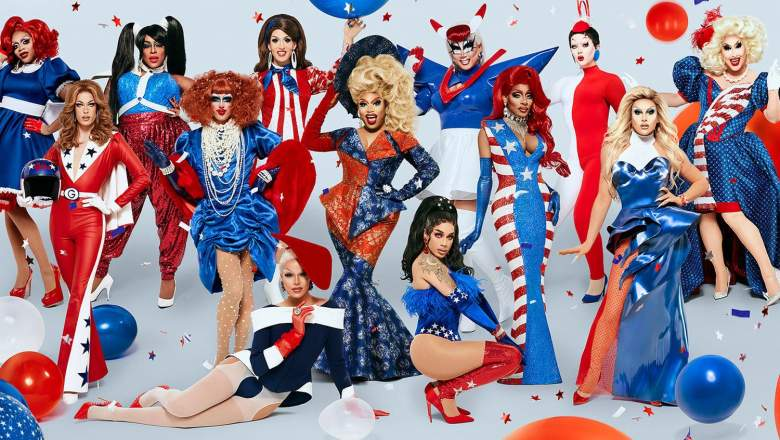 RuPaul's Drag Race Season 12 cast