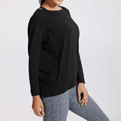 CRZ YOGA Long Sleeve Workout Shirts