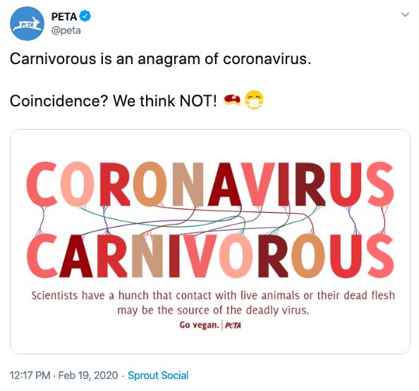 Coronavirus meat