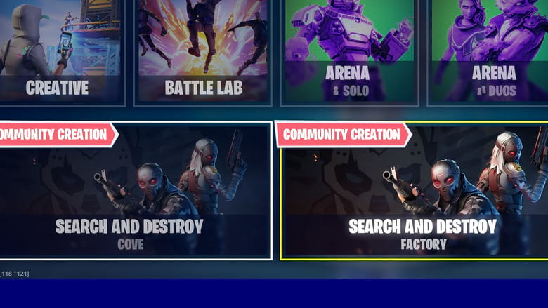 search and destroy map tips fortnite
