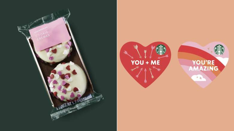 Starbucks Valentine's Day 2020