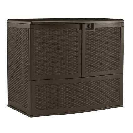 Suncast 195-Gallon Resin Vertical Storage Box