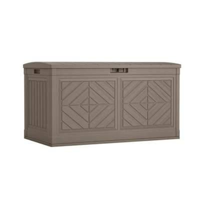 Suncast Baywood 80-Gallon Large Deck Box