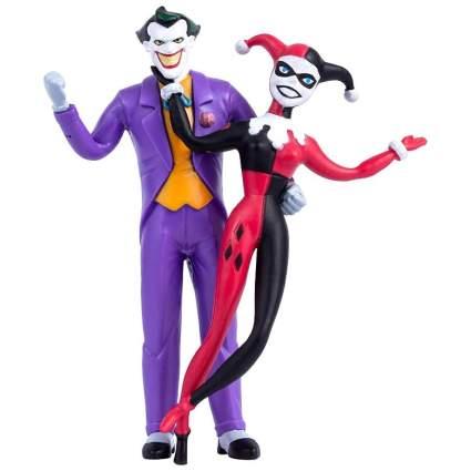 The Joker & Harley Quinn Animated Series Bendable Figure Pair