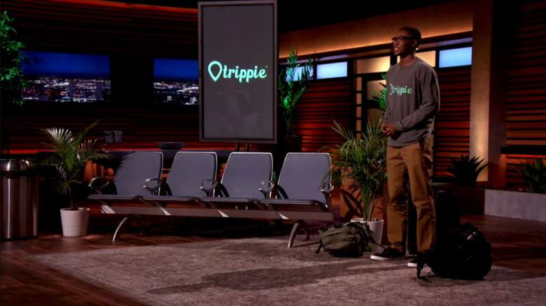 Ryan Diew Trippie app on Shark Tank