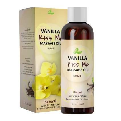 Vanilla Erotic Massage Oil