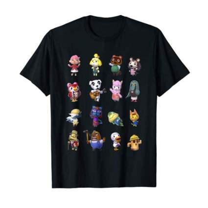 Villagers Line-Up T-Shirt