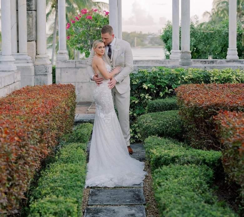 JJ Watt Kealia Ohai married
