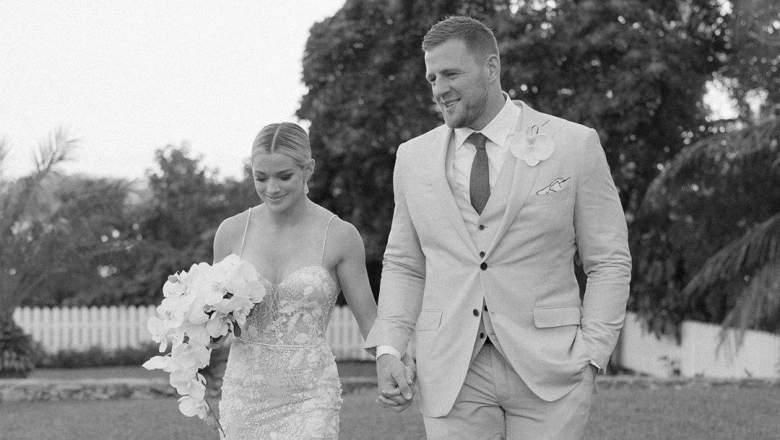 JJ Watt married