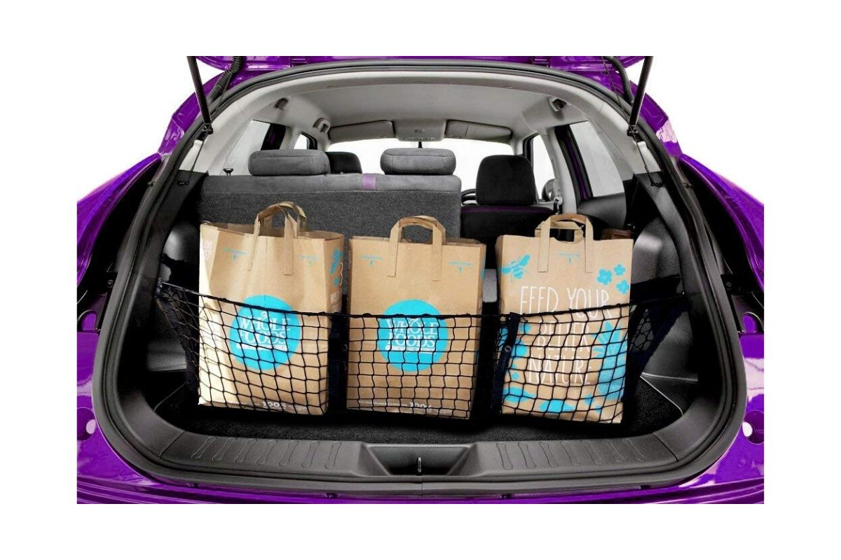 Foldable Space Saving DEWINNER Car Boot Organiser Waterproof Durable for Rear SUV Van Tidy Storage Trunk Organizer Heavy Duty Auto Luggage Non Slip Bottom,Collapsible Multi Compartment