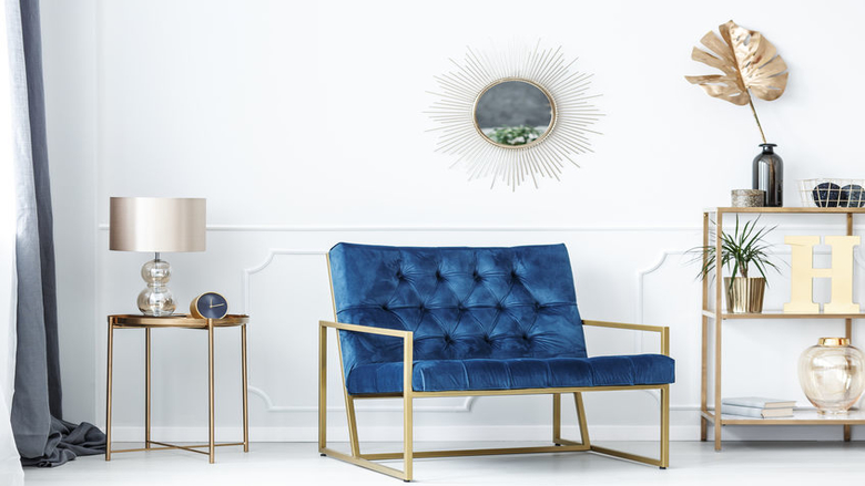 11 Best Blue Accent Chairs You Ll Love, Blue Accent Chairs For Living Room