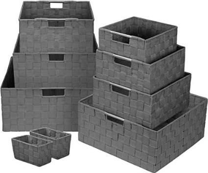 Sorbus Storage Box Woven Basket
