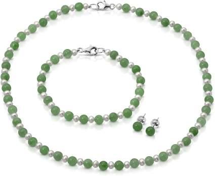 JAde necklace set