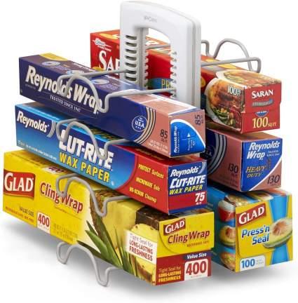 YouCopia 50173 WrapStand Kitchen Wrap Box Organizer