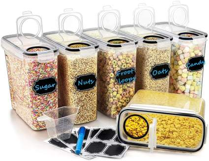 Large Cereal & Dry Food Storage Containers