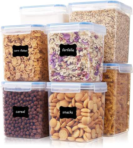 Extra Large Tall Airtight Food Storage Containers