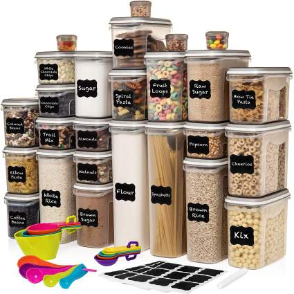 52 Pc Food Storage Containers