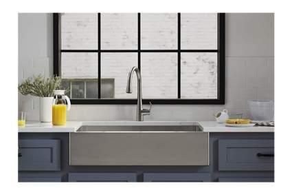 Kohler stainless touchless faucet