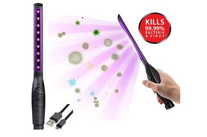 uv-c sanitizer wand