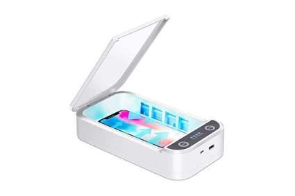 uv phone sanitizer box